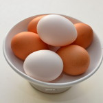 Eier roh