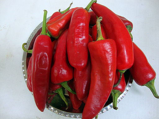 rote Chilis,